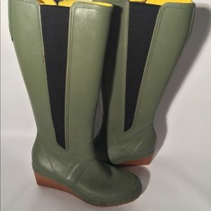 Shoes - Knee high rubber rain boots